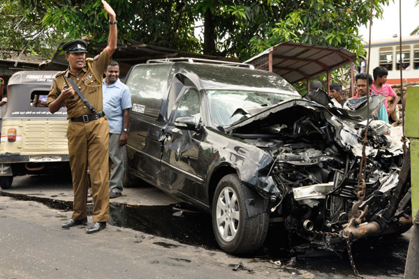 Accident Kelaniya